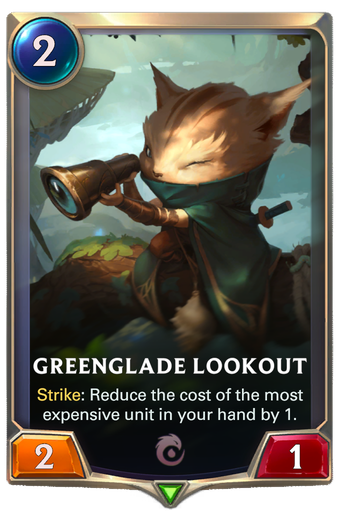 Greenglade Lookout Card Image