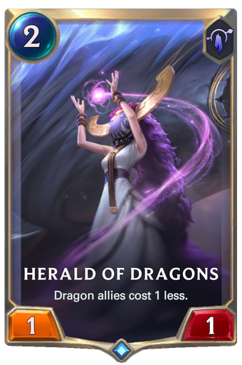 Herald of Dragons Card Image
