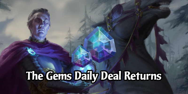 MTG Arena Stonks Alert - Get 500 Gems for 400 Gems or 2000 Gold Today Only!