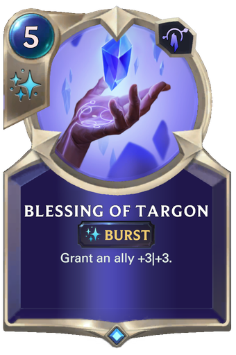 Blessing of Targon Card Image