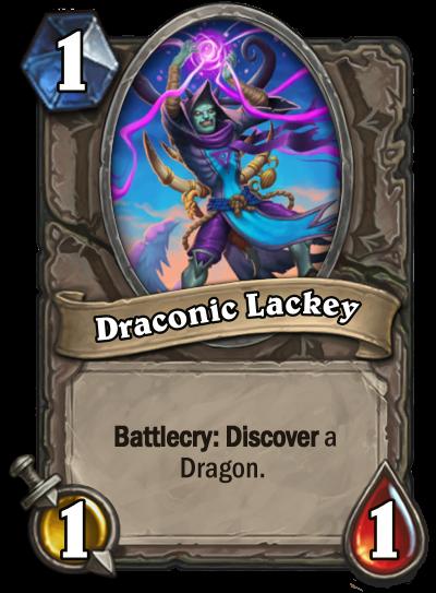 Draconic Lackey Card Image