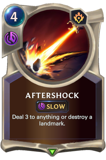 Aftershock Card Image