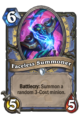 Faceless Summoner Card Image