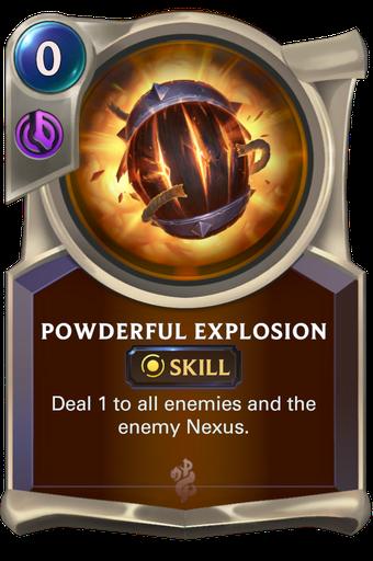 Powderful Explosion Card Image