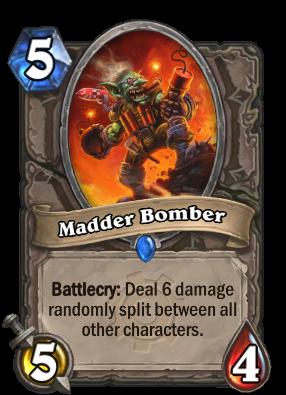 Madder Bomber Card Image
