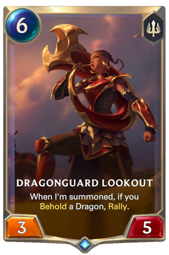 Dragonguard Lookout Card Image