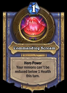 Commanding Scream Card Image