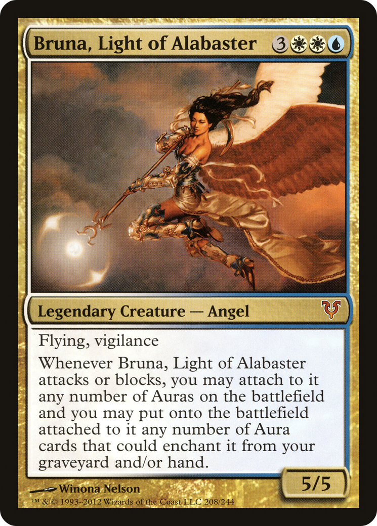 Bruna, Light of Alabaster Card Image