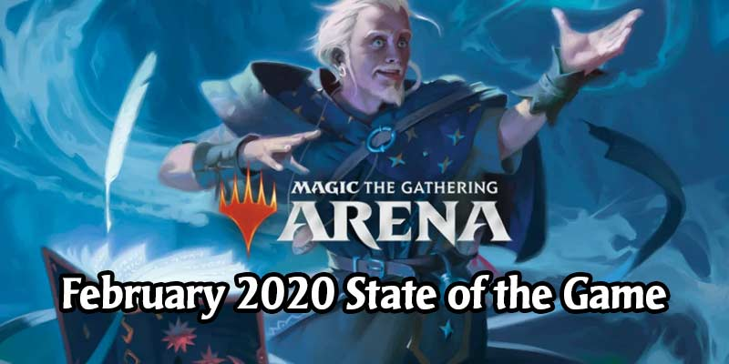 MTG Arena State of the Game February 2020 - Nyx Basic Lands Coming for 3000 Gold Each, AMA Next Week