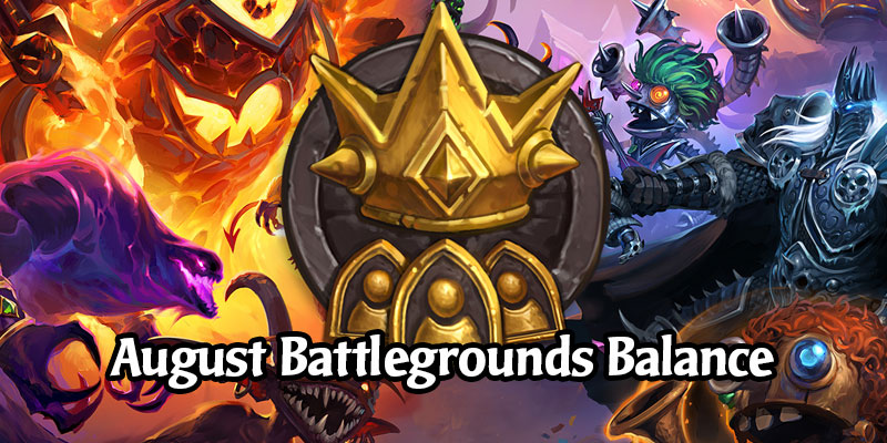 Battlegrounds Changes Arriving in Hearthstone's Next Patch - Tier Changes and Minion & Hero Balance