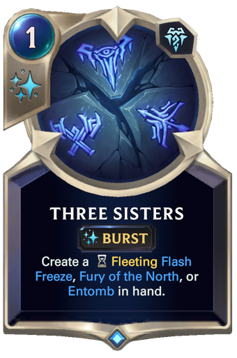 Three Sisters Card Image