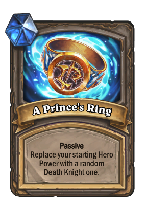 A Prince's Ring Card Image
