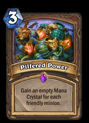 Pilfered Power Card Image