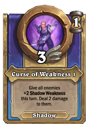 Curse of Weakness 1 Card Image