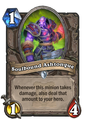 Soulbound Ashtongue Card Image
