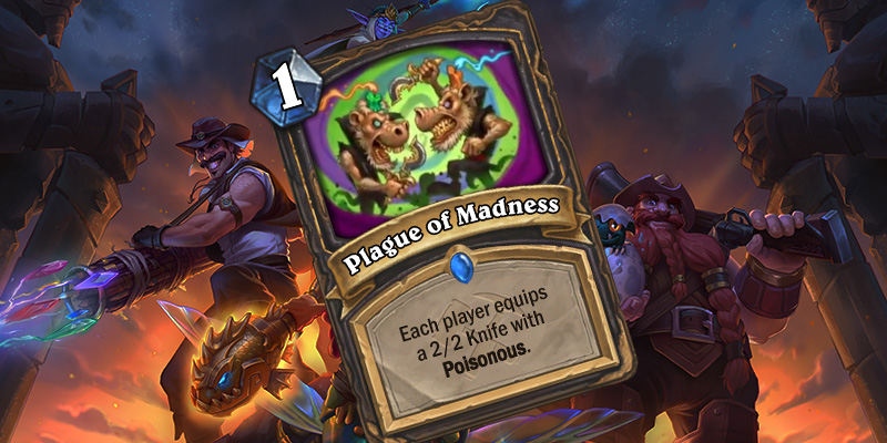 Rogue Uldum Card Reveal - Plague of Madness