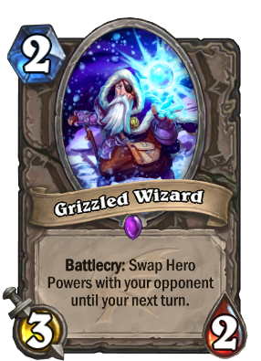 Grizzled Wizard Card Image