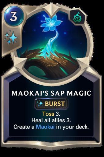 Maokai's Sap Magic Card Image