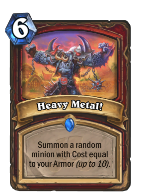Heavy Metal! Card Image