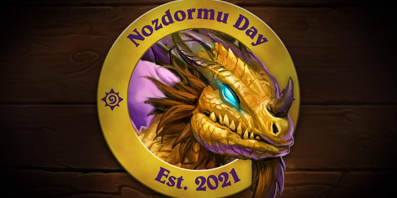 Tomorrow, May 15, is Nozdormu Day! Find a Fun Deck to Play to Celebrate the Event