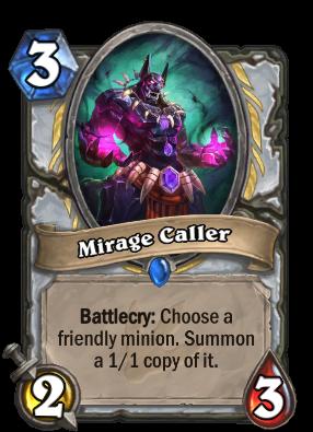Mirage Caller Card Image