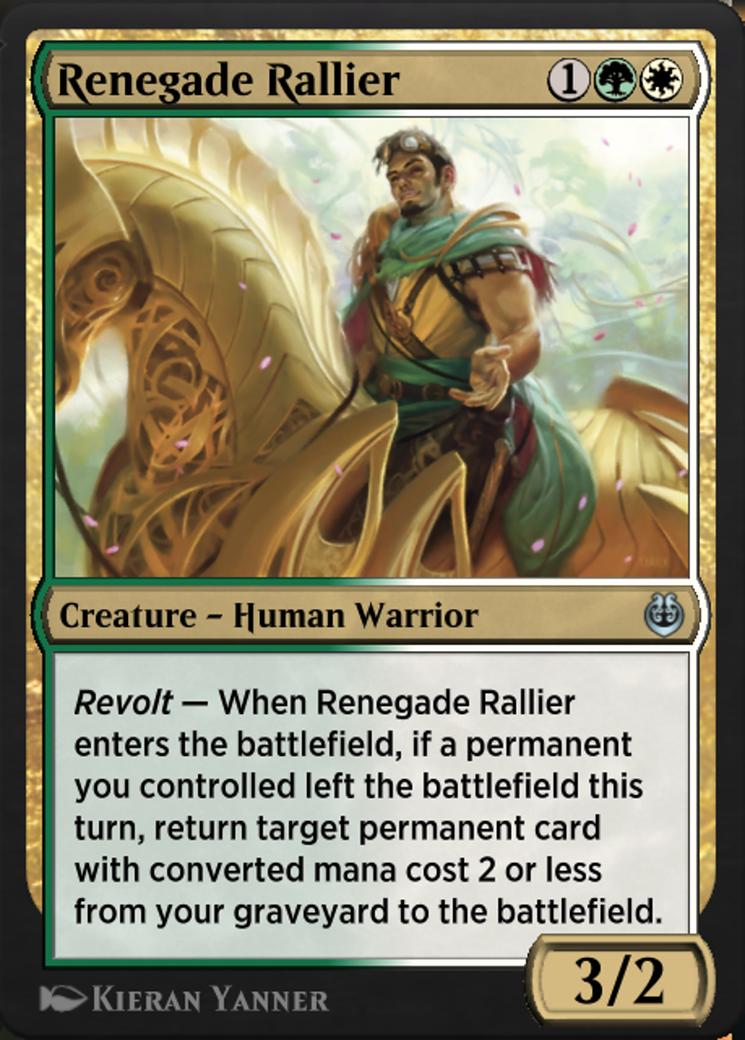 Renegade Rallier Card Image