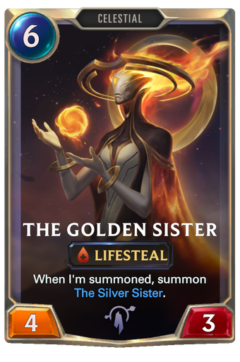 The Golden Sister Card Image