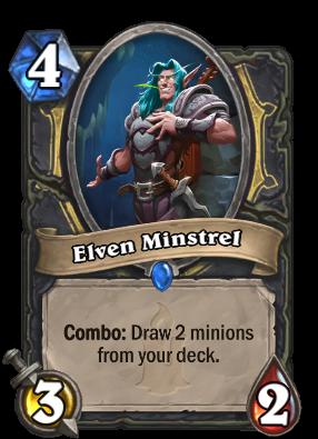 Elven Minstrel Card Image