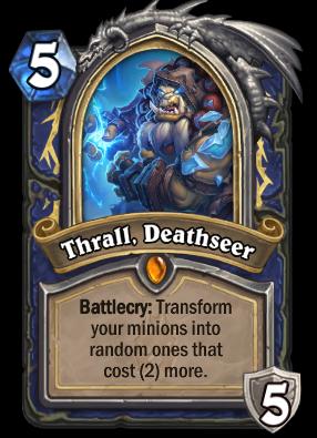 Thrall, Deathseer Card Image