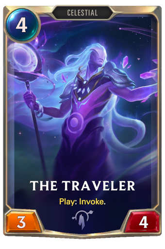 The Traveler Card Image