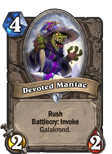 Devoted Maniac Card Image