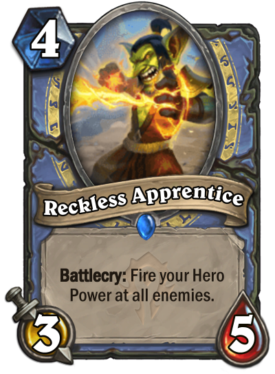 Reckless Apprentice Card Image
