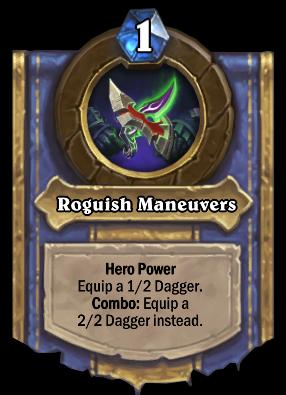 Roguish Maneuvers Card Image