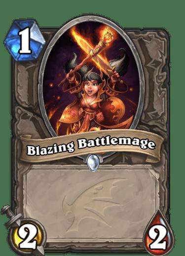 Blazing Battlemage Card Image