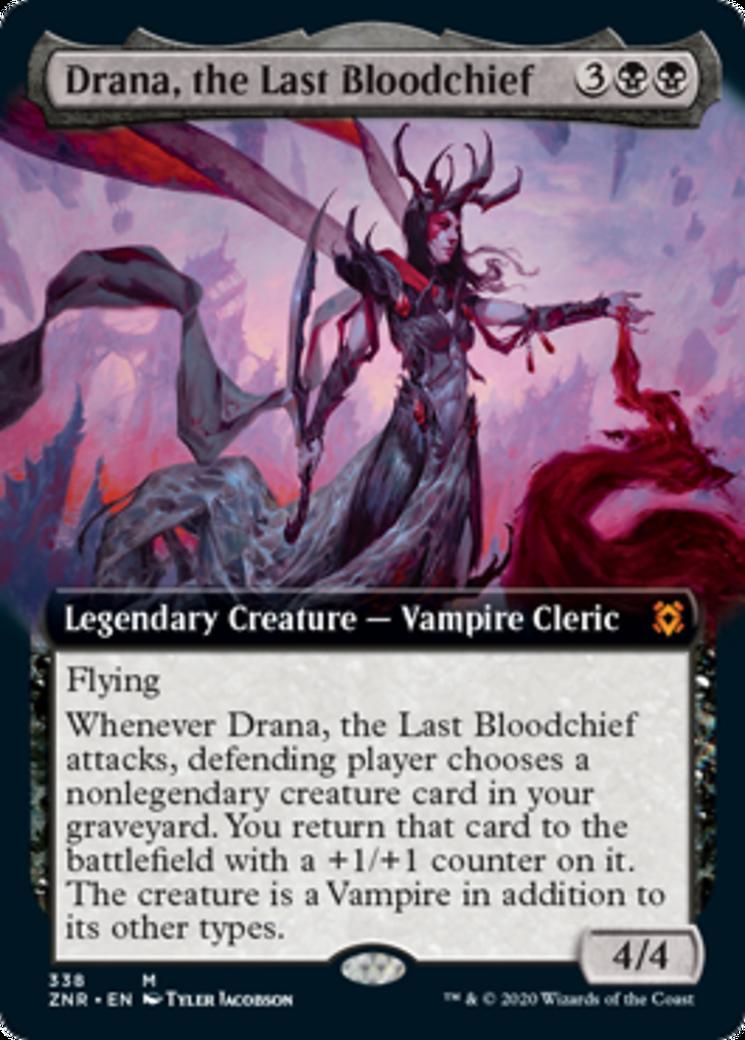 Drana, the Last Bloodchief Card Image