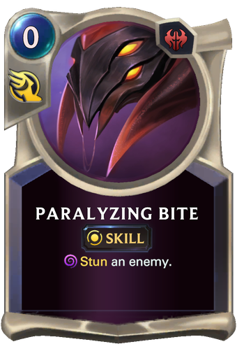 Paralyzing Bite Card Image