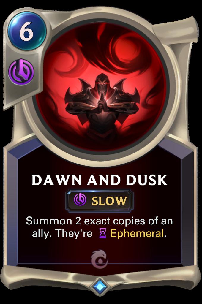Dawn and Dusk Card Image