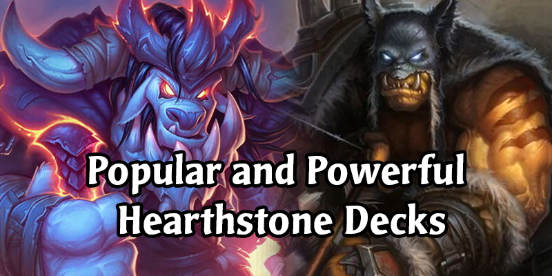 The Popular and the Powerful - Iksar Gives an Update on the Hearthstone Standard Meta