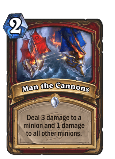 Man the Cannons Card Image