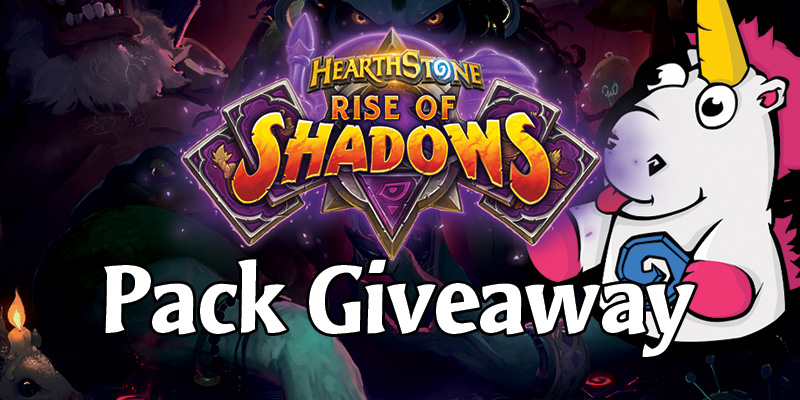 Rise of Shadows Card Pack Giveaway