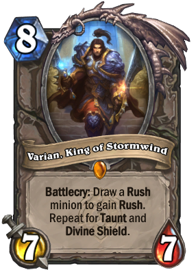 Varian, King of Stormwind Card Image