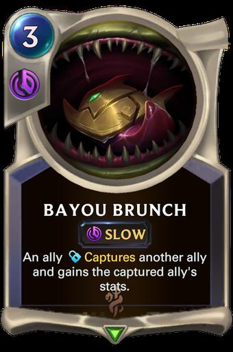 Bayou Brunch Card Image