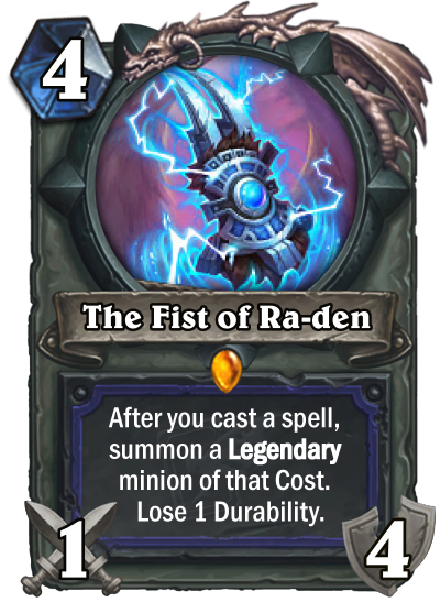 The Fist of Ra-den Card Image