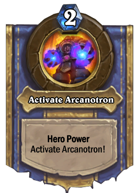 Activate Arcanotron Card Image