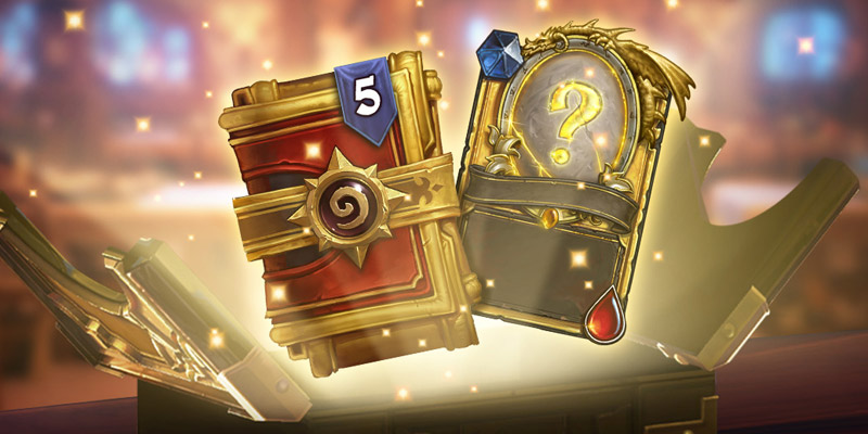 Open Up Your Wallets - Two Golden Standard Pack Bundles Hit the Hearthstone Shop Today