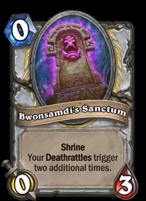 Bwonsamdi's Sanctum Card Image