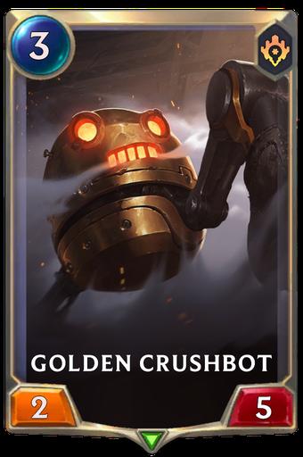Golden Crushbot Card Image