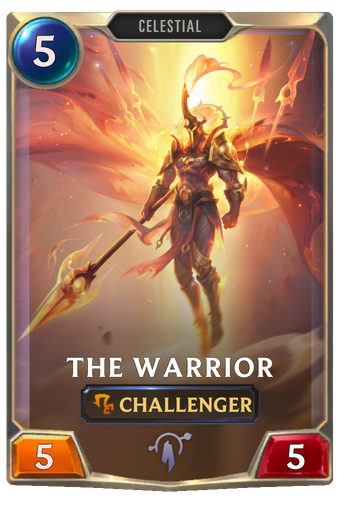 The Warrior Card Image