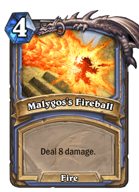 Malygos's Fireball Card Image