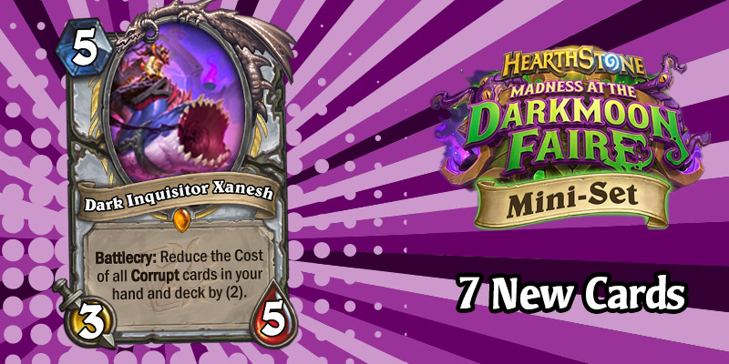 The Final 7 Darkmoon Faire Mini Set Card Reveals - Priest Legendary, Paladin Weapon Libram, Deathrattle Disabling, and More!